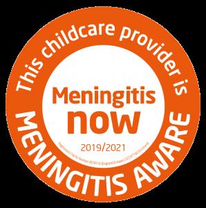 Meningitis Aware badge