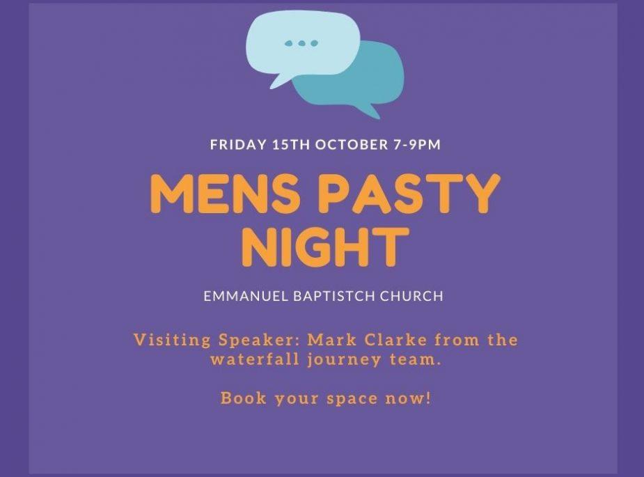 Men's Pasty Night